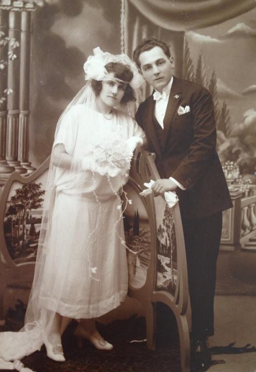 Alinda e João, os pais