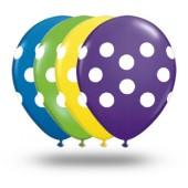 Balões com poás - todas as cores! Camicado