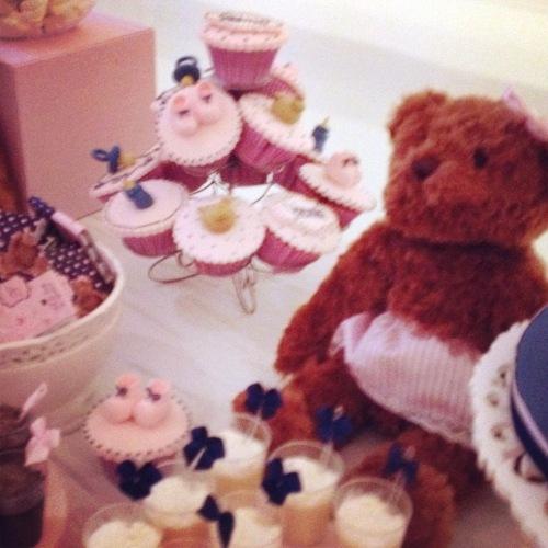 Mais detalhes dos cupcakes