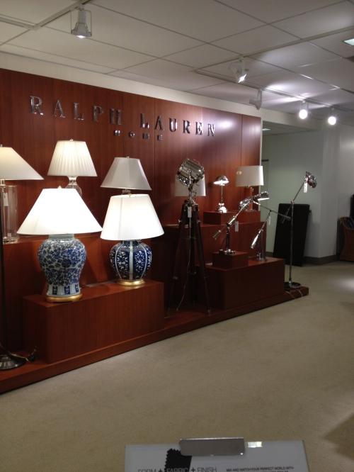 Luminárias Ralph Lauren