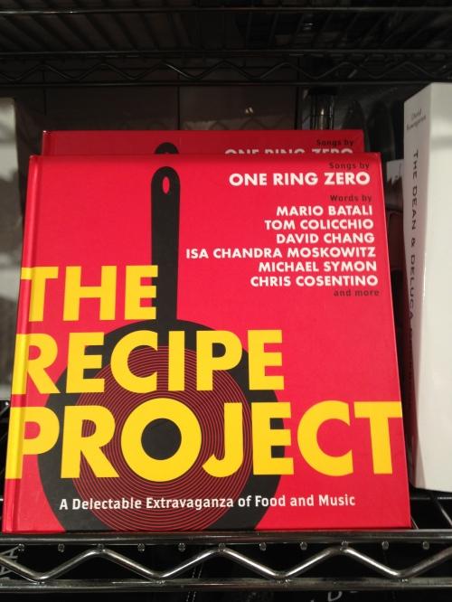 No EATALY há também um setor de livros de culinária fantástico