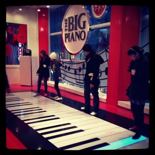 O piano que aparece em 'Big - Quero ser grande'