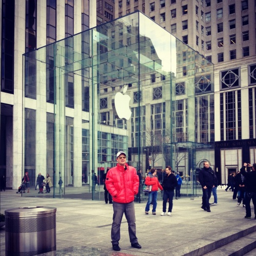 Apple Store, o cubo de vidro